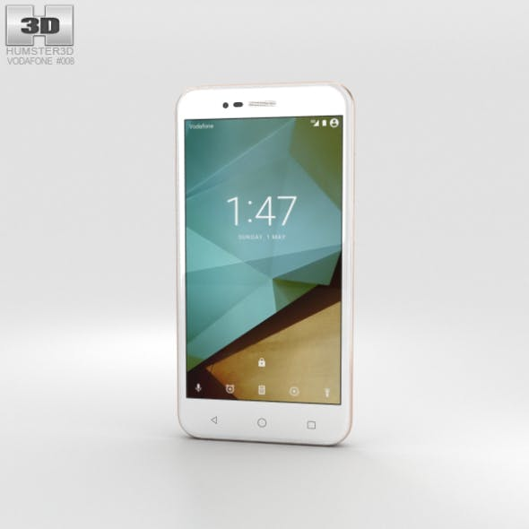 Vodafone Smart Prime 7 Boron White