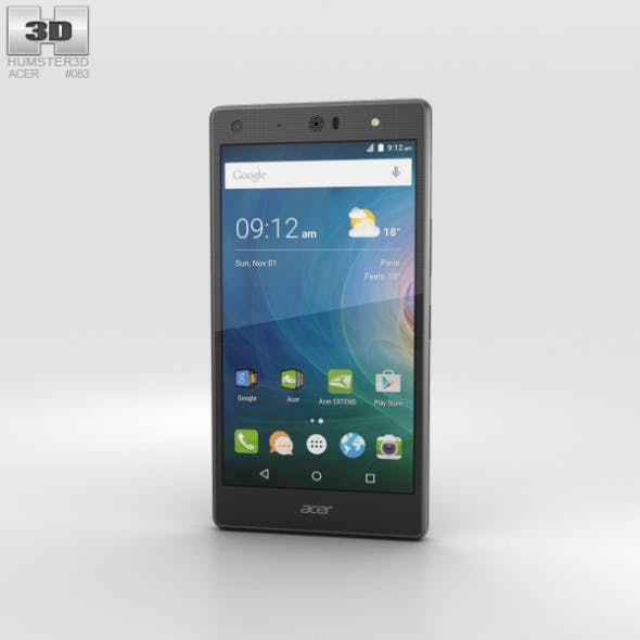 Acer Liquid X2 Black - 3DOcean Item for Sale
