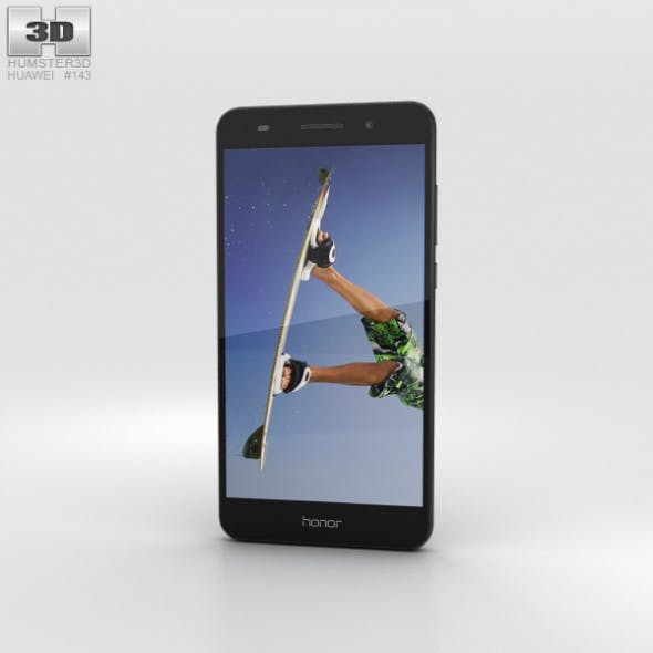 Huawei Honor 5A Black - 3DOcean Item for Sale