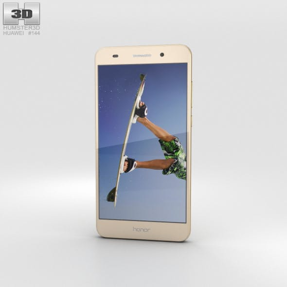 Huawei Honor 5A Gold - 3DOcean Item for Sale