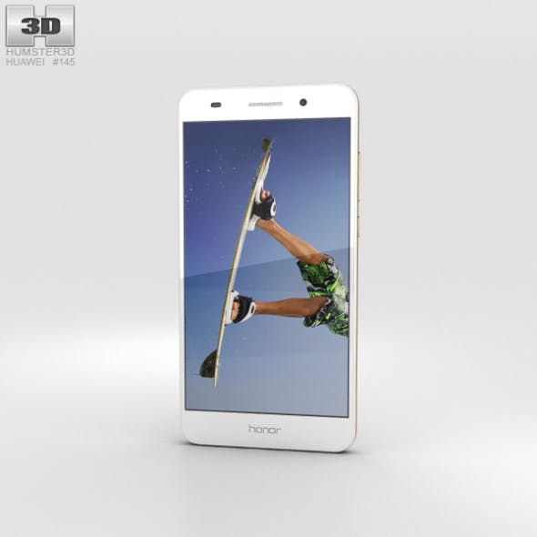 Huawei Honor 5A White - 3DOcean Item for Sale