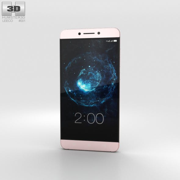 LeEco Le Max 2 Rose Gold - 3DOcean Item for Sale