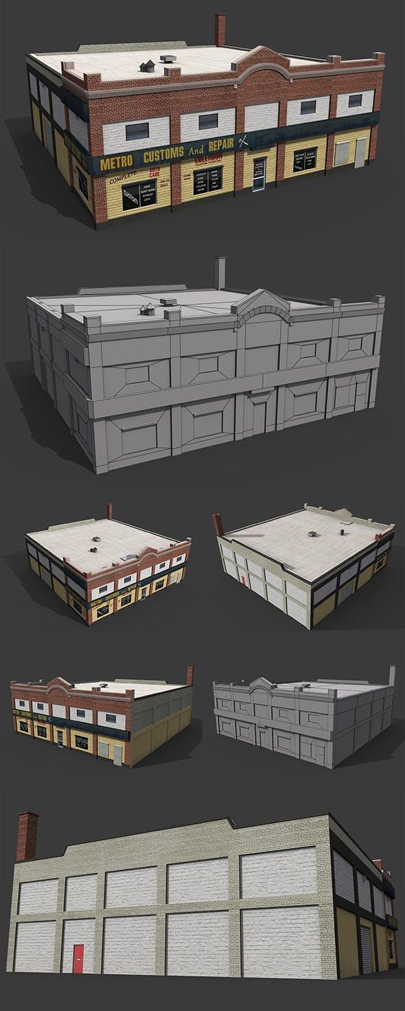 Car Repair Workshop - 3DOcean Item for Sale
