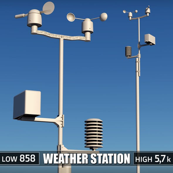 Weather meteo station