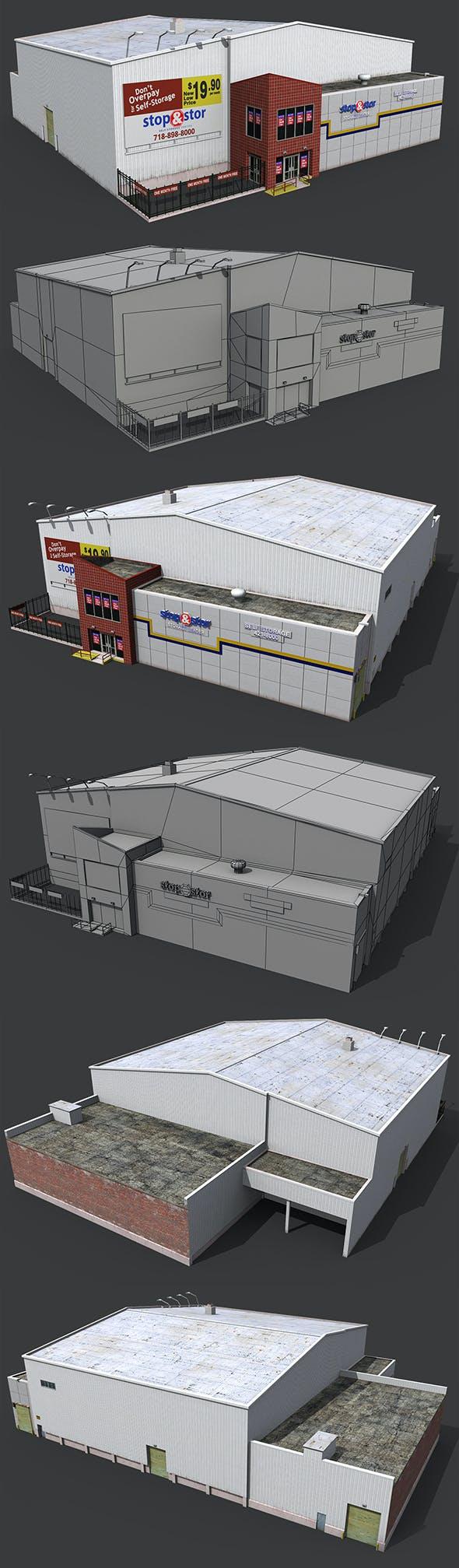 Self Storage Warehouse - 3DOcean Item for Sale