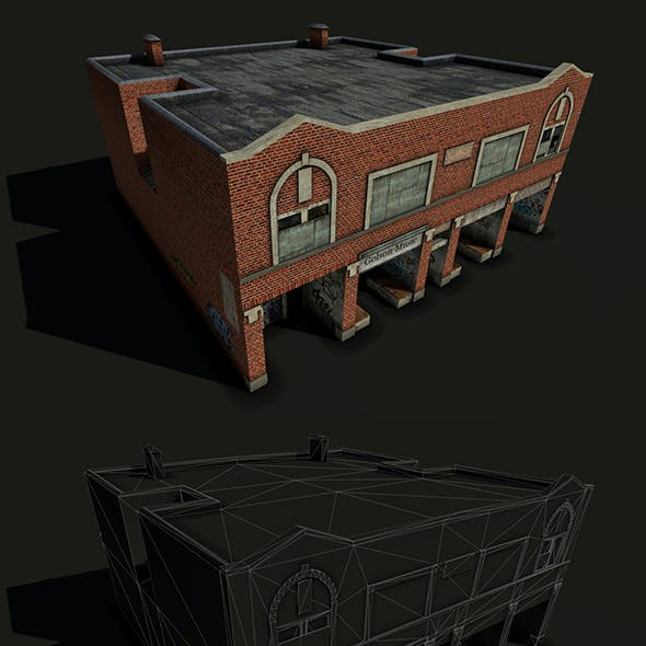 Derelict Brick House