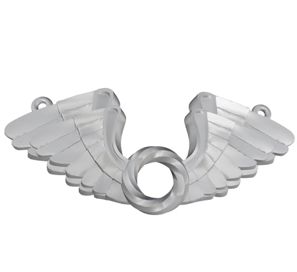 Wings Pendent 3D print model - 3DOcean Item for Sale