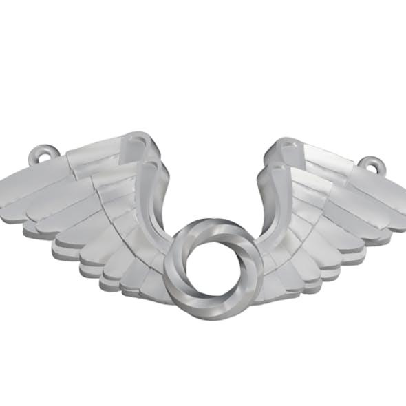 Wings Pendent 3D print model