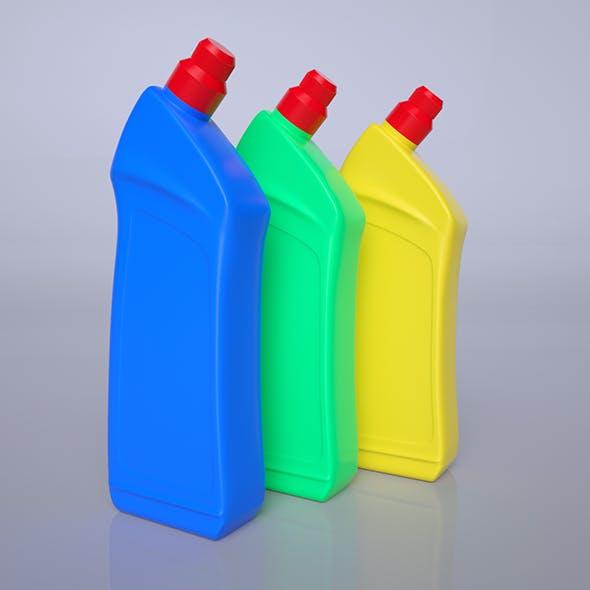Plastic bottle - 3DOcean Item for Sale