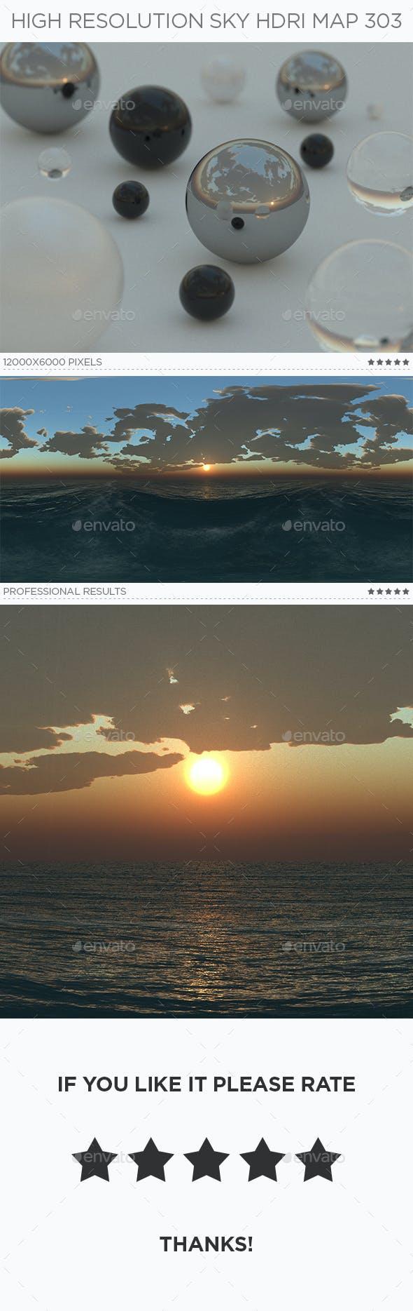 High Resolution Sky HDRi Map 303 - 3DOcean Item for Sale