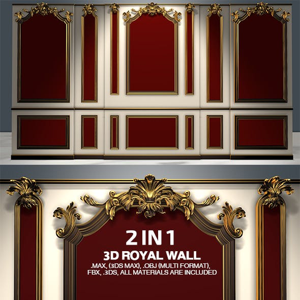 2 Luxurious Royal Walls