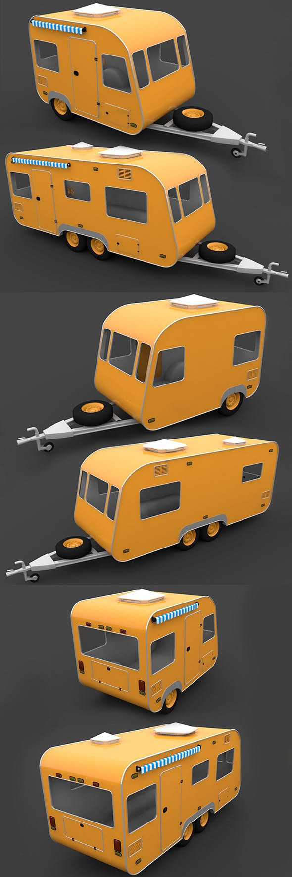 Trailer Travel - 3DOcean Item for Sale