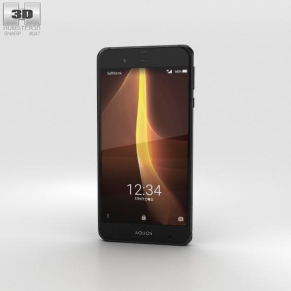 Sharp Aquos Xx3 Black - 3DOcean Item for Sale