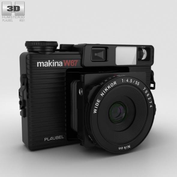 Plaubel Makina W67 - 3DOcean Item for Sale