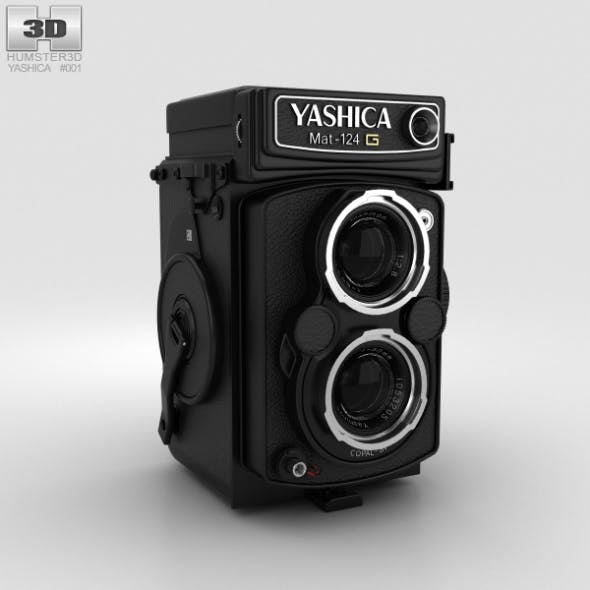 Yashica Mat 124g - 3DOcean Item for Sale