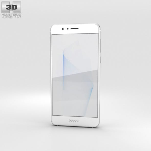 Huawei Honor 8 Pearl White - 3DOcean Item for Sale