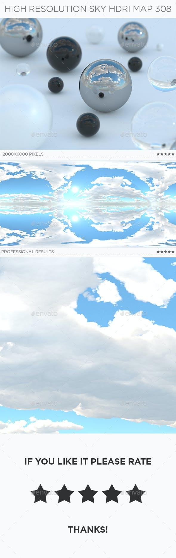 High Resolution Sky HDRi Map 308 - 3DOcean Item for Sale
