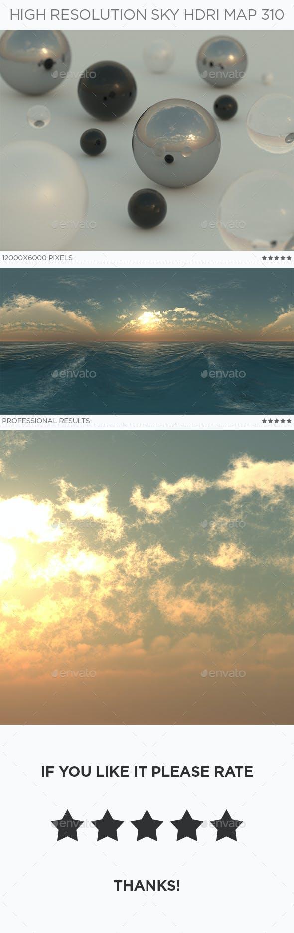 High Resolution Sky HDRi Map 310 - 3DOcean Item for Sale