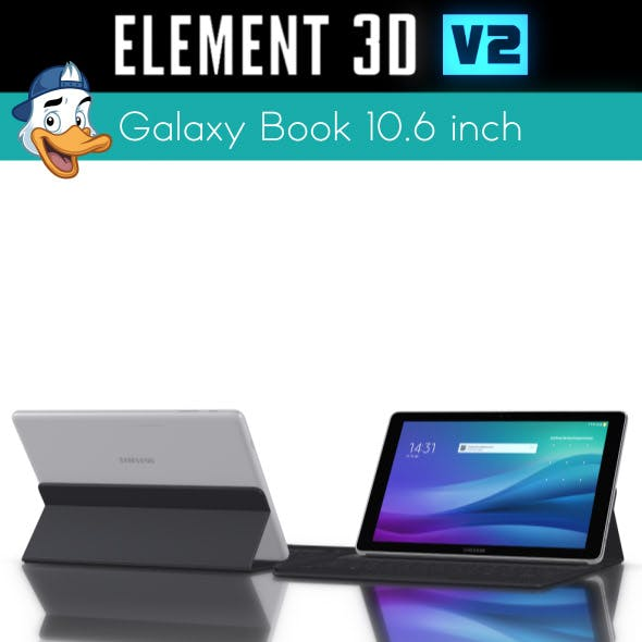 Samsung Galaxy Book 10.6 inch for Element 3D