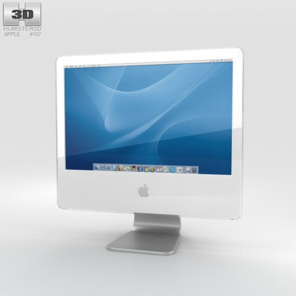 Apple iMac G5 2004 - 3DOcean Item for Sale