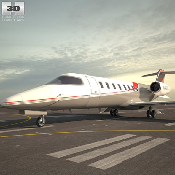 Learjet 75 - 3DOcean Item for Sale