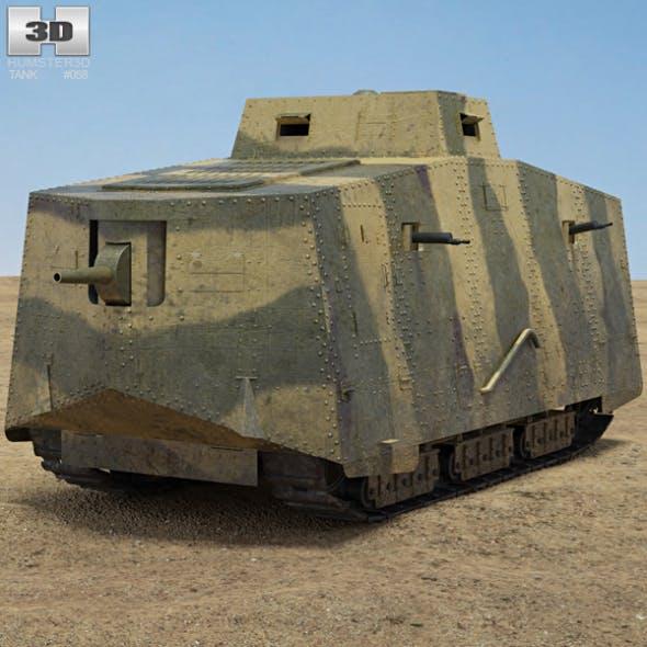A7V Sturmpanzerwagen - 3DOcean Item for Sale