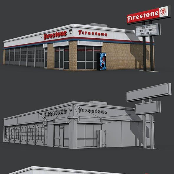 Firestone Complete Auto Service Building