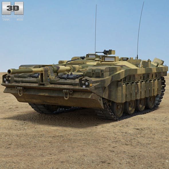 Stridsvagn 103 - 3DOcean Item for Sale