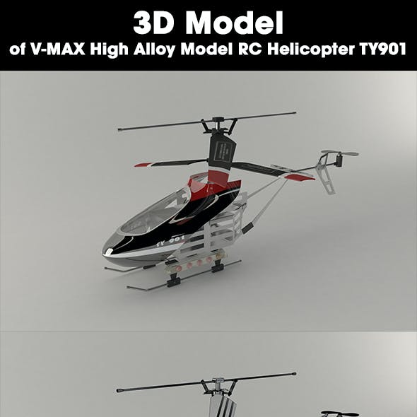 Helicopter - V-MAX High Alloy Model RC Helicopter TY901