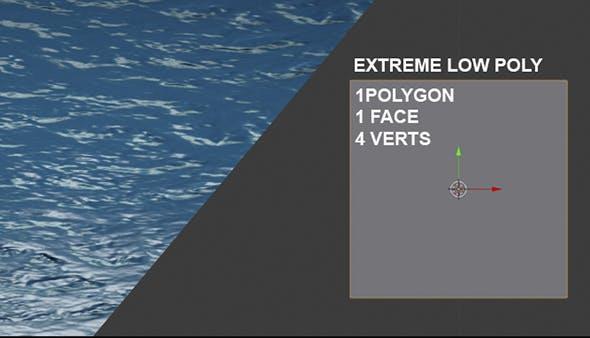 water loop animation - 3DOcean Item for Sale