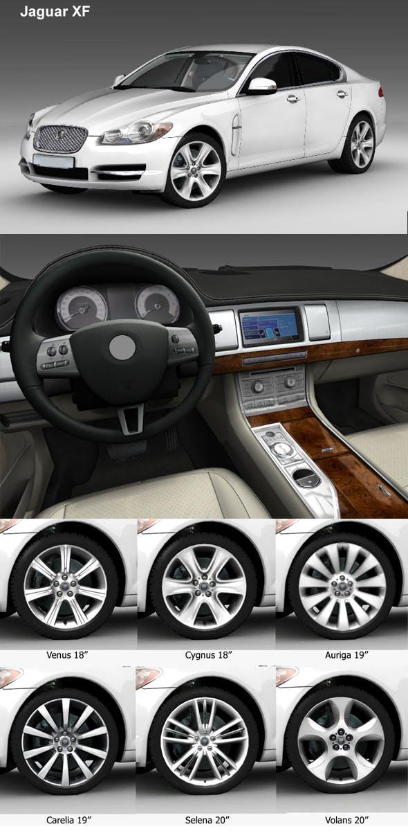 Jaguar XF - 3DOcean Item for Sale