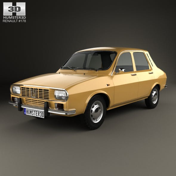Renault 12 1969 - 3DOcean Item for Sale