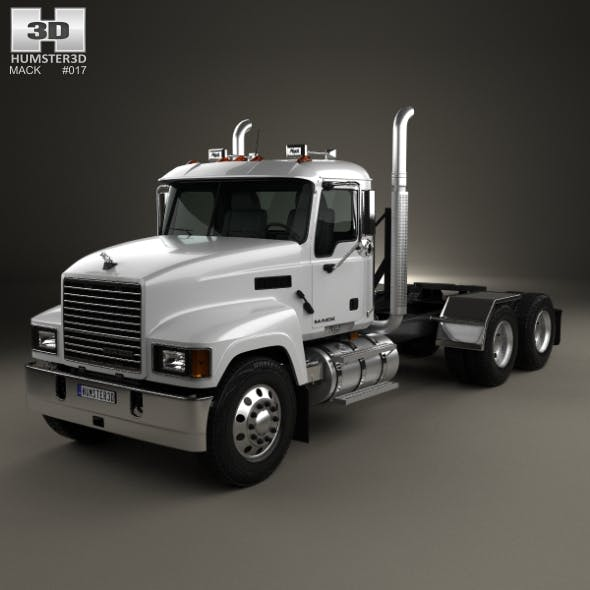 Mack Pinnacle Tractor Truck 2006 - 3DOcean Item for Sale