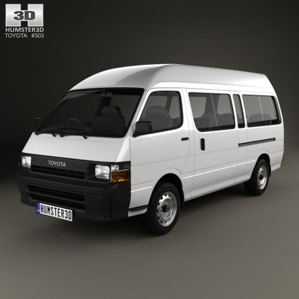 Toyota HiAce Commuter 1992 - 3DOcean Item for Sale