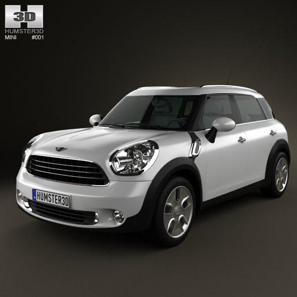 Mini Countryman 2011 - 3DOcean Item for Sale