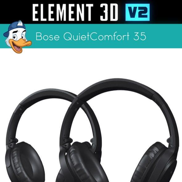 Bose QuietComfort 35 for Element 3D