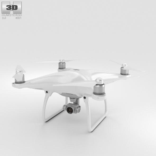 DJI Phantom 4 Camera Drone - 3DOcean Item for Sale