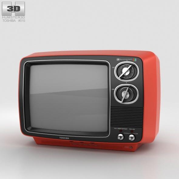 Toshiba Blackstripe - 3DOcean Item for Sale