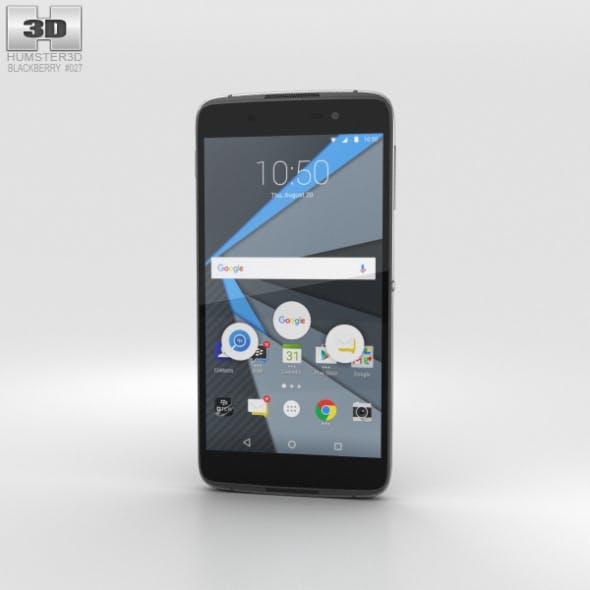 BlackBerry DTEK50 Black - 3DOcean Item for Sale