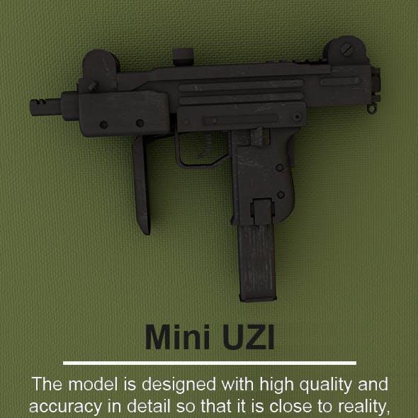 Mini UZI - 3D Model