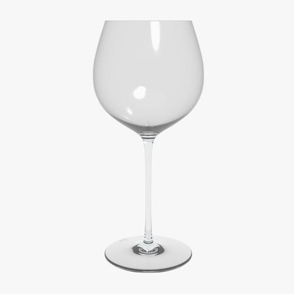 Glass Riedel Superleggero Oaked Chardonnay - 3DOcean Item for Sale