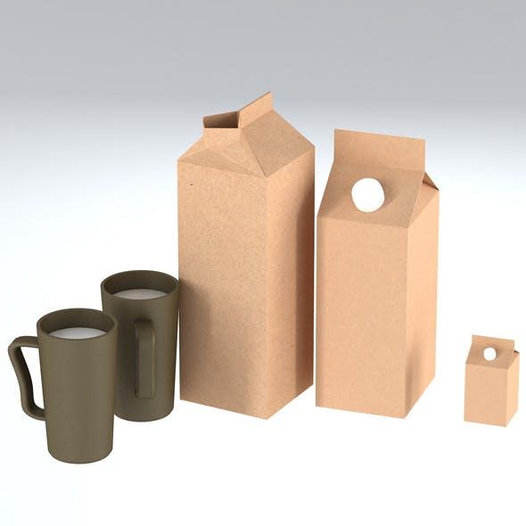 Milk - 3DOcean Item for Sale