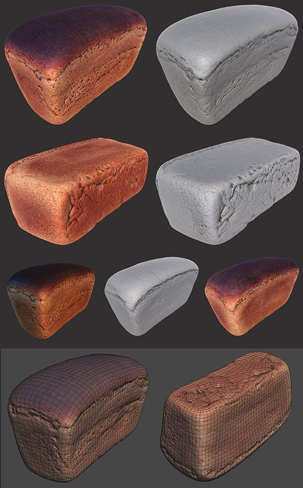 Soviet Brick Bread - 3DOcean Item for Sale