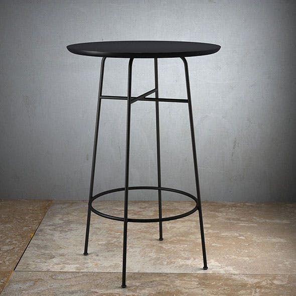 Afteroom Bar Table - Height 102cm - 3DOcean Item for Sale