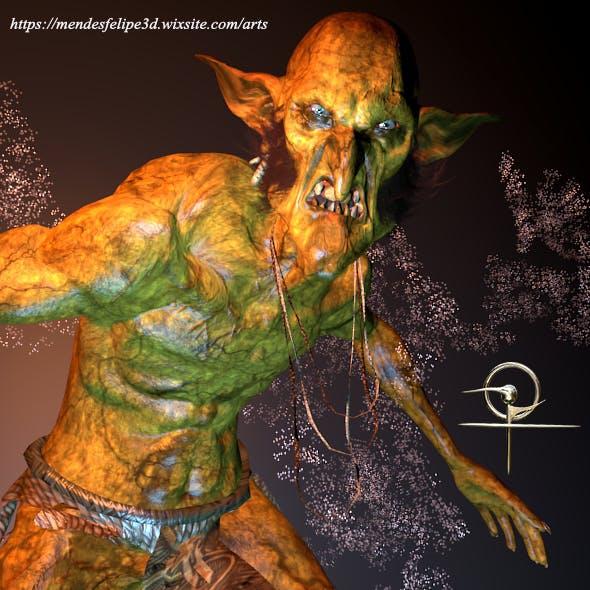 Goblin Bonepicker - 3DOcean Item for Sale