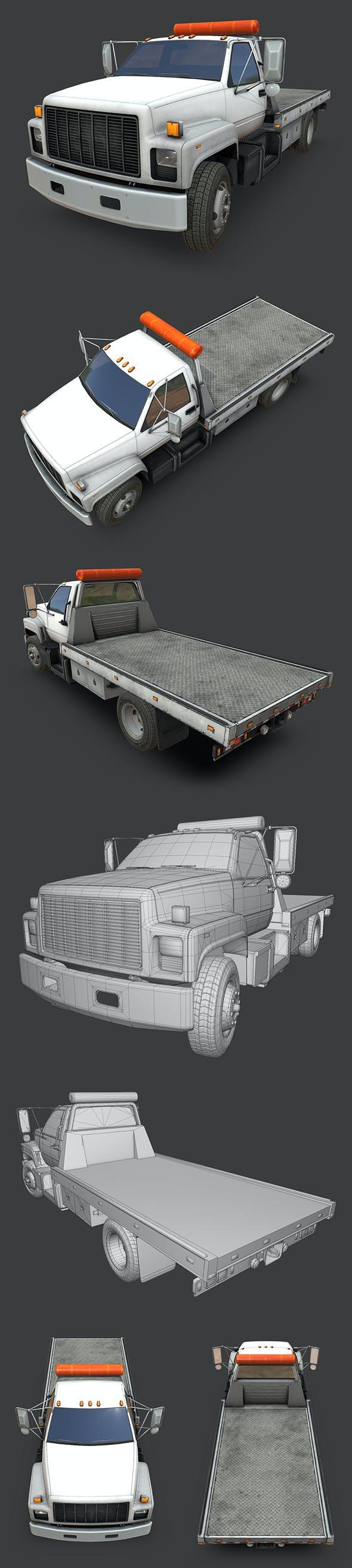 GMC Top Kick Truck - 3DOcean Item for Sale