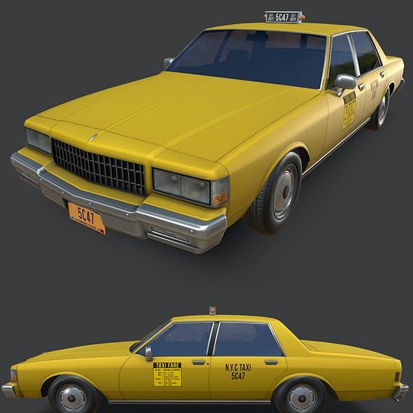 Chevrolet Caprice New York Taxi