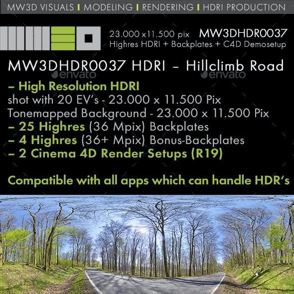 MW3DHDR0037 Hillclimb Racetrack Zotzenbach Germany
