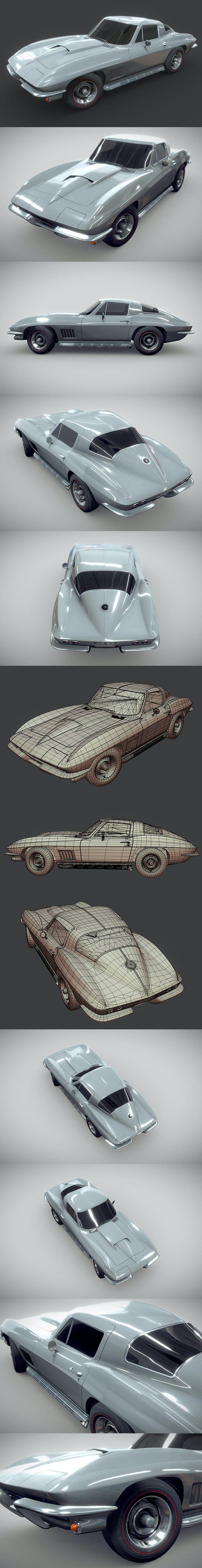 Chevrolet Corvette 1967 - 3DOcean Item for Sale