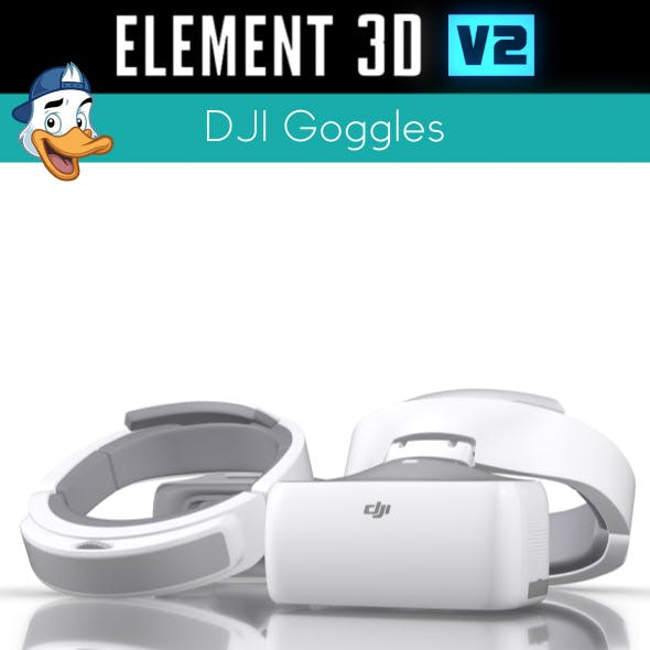 DJI Goggles for Element 3D